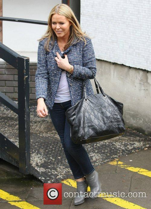 Patsy Kensit at the ITV studios London, England