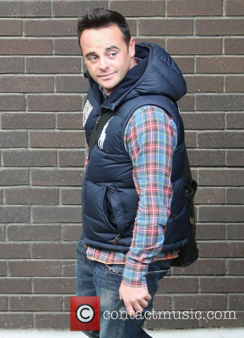 Anthony McPartlin aka Ant outside the ITV studios...