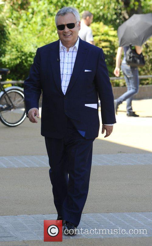 Eamonn Holmes outside the ITV studios London, England