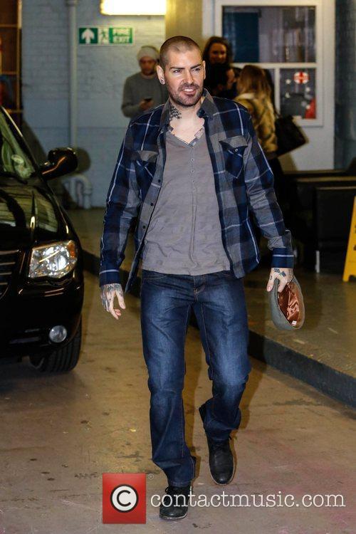 Shane Lynch Celebrities at the ITV studios London,...