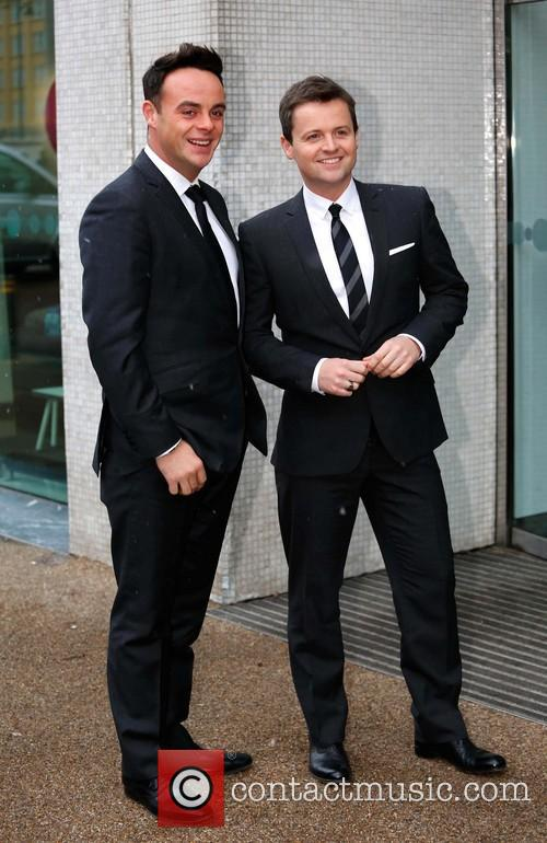 Anthony McPartlin; Declan Donnelly Celebrities at the ITV...