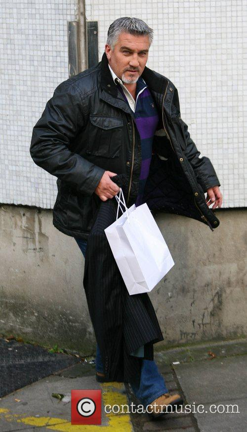 Paul Hollywood outside the ITV studios London, England