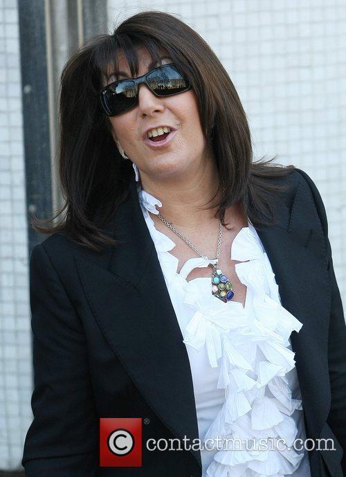 Jane McDonald at the ITV studios London, England