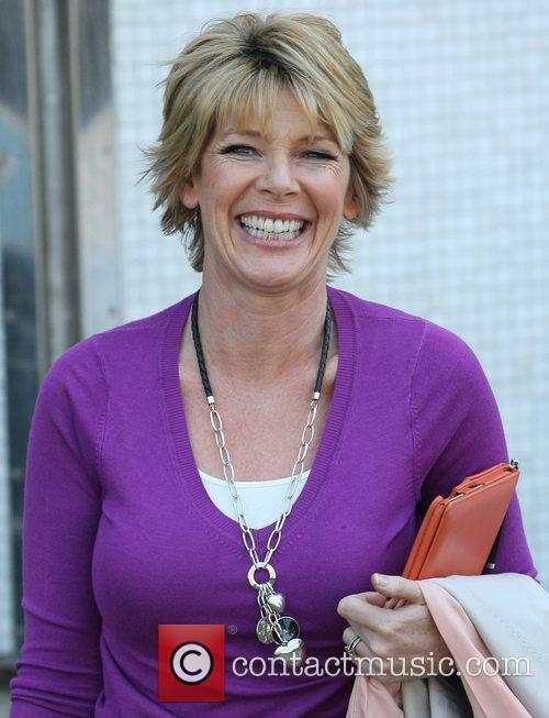 Ruth Langsford at the ITV studios London, England