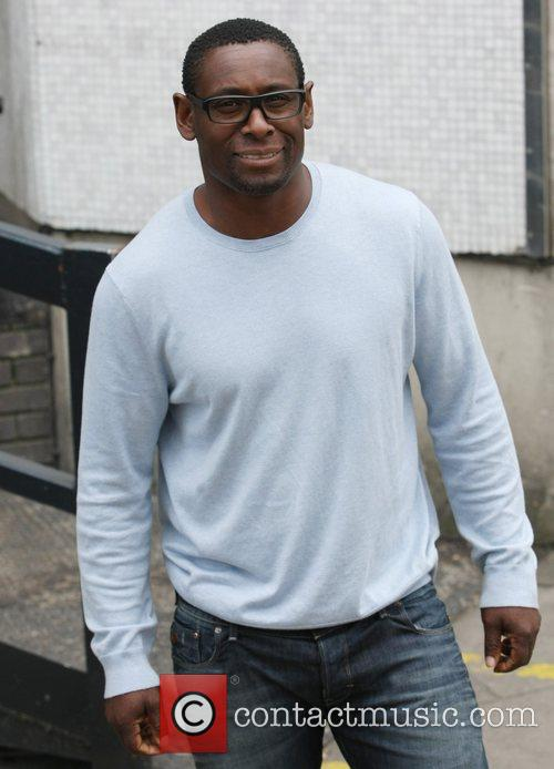 David Harewood at the ITV studios London, England