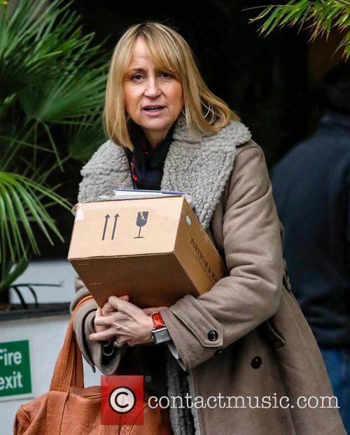 Carol McGiffin Celebrities at the ITV studios...