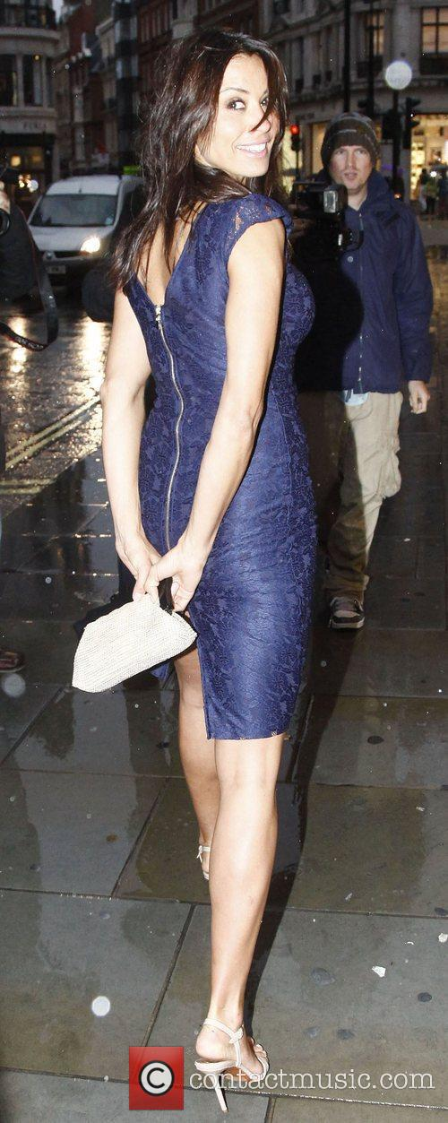 Melanie Sykes,  at the ITV Summer Party...