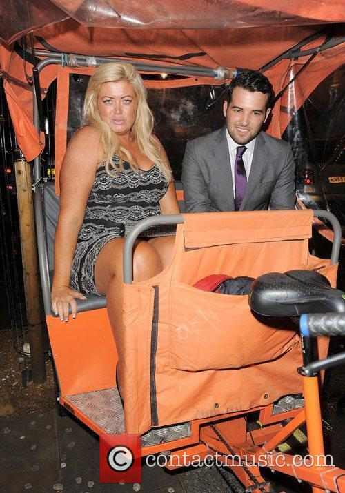 Gemma Collins and Ricky Rayment ITV 'Summer' Party,...