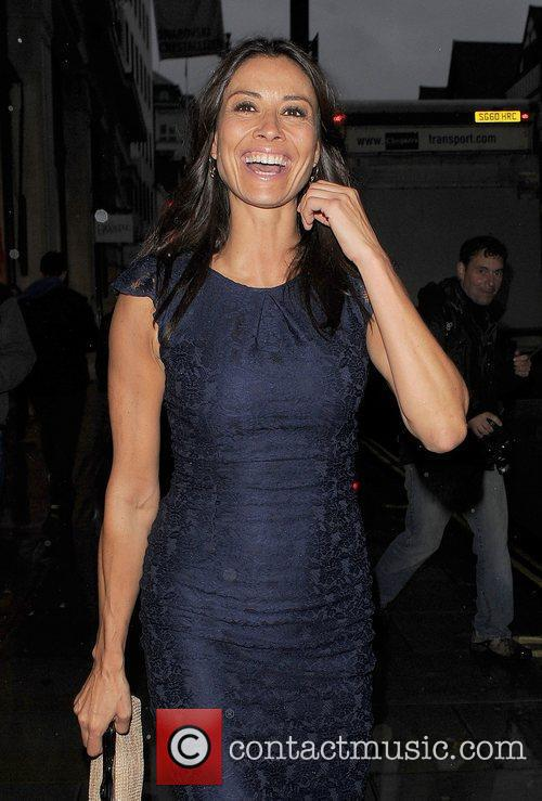 Melanie Sykes ITV 'Summer' Party, held at Aqua...