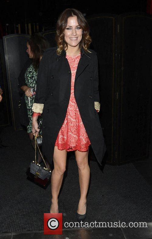 Caroline Flack ITV 'Summer' Party held at Aqua...