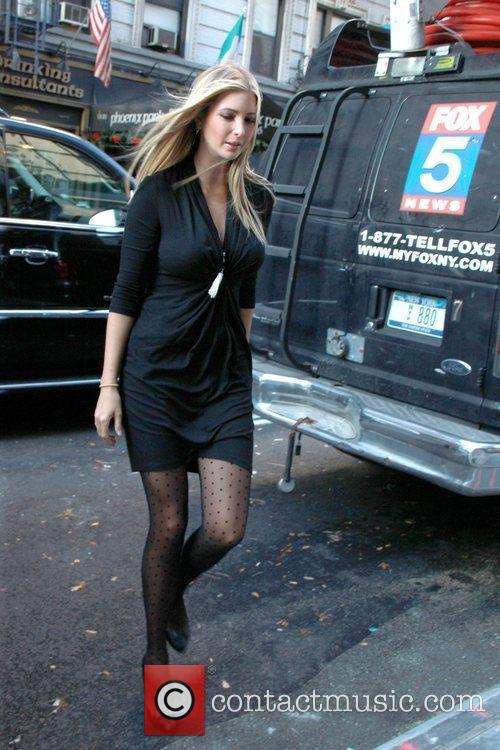 Arrives at the 'Good Day New York' Studio...