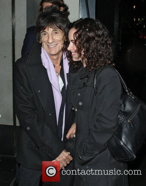 Ronnie Wood, Sally Humphreys and Ivy Club 1