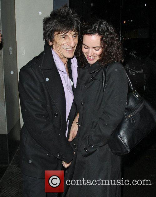 Ronnie Wood, Sally Humphreys and Ivy Club 2