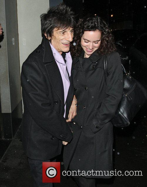 Ronnie Wood, Sally Humphreys and Ivy Club 4