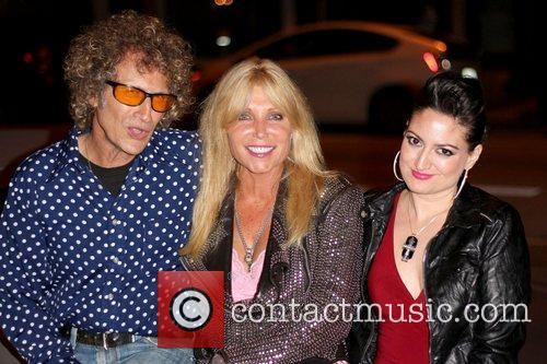 Guest, Pamela Bach-Hasselhoff and Vikki Lizzi Party with...