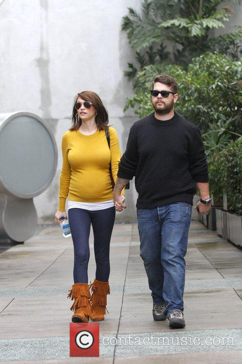 Jack Osbourne and pregnant fiancee Lisa Stelly are...