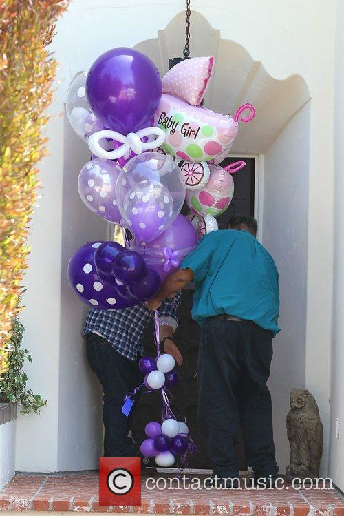 Jack Osbourne has balloons delivered to his house...