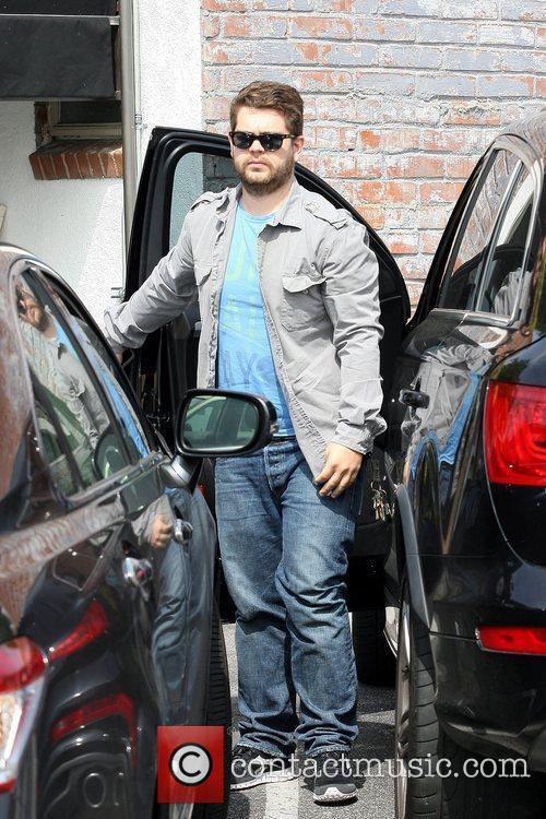 Jack Osbourne and pregnant Girlfriend Lisa Stelly heading...