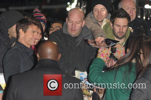 Jack Reacher' U., K, Odeon Leicester Square and Arrivals 5