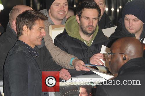 Jack Reacher' U., K, Odeon Leicester Square and Arrivals 6