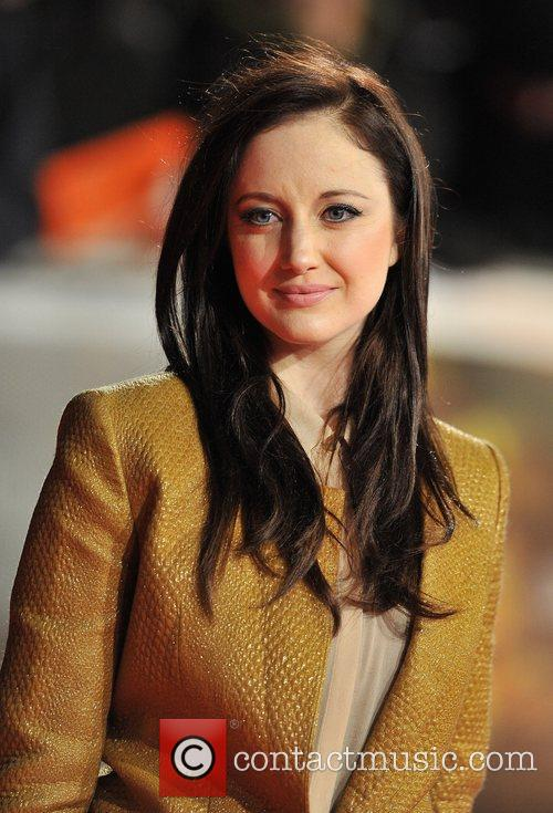 Andrea Riseborough and Odeon Leicester Square 4