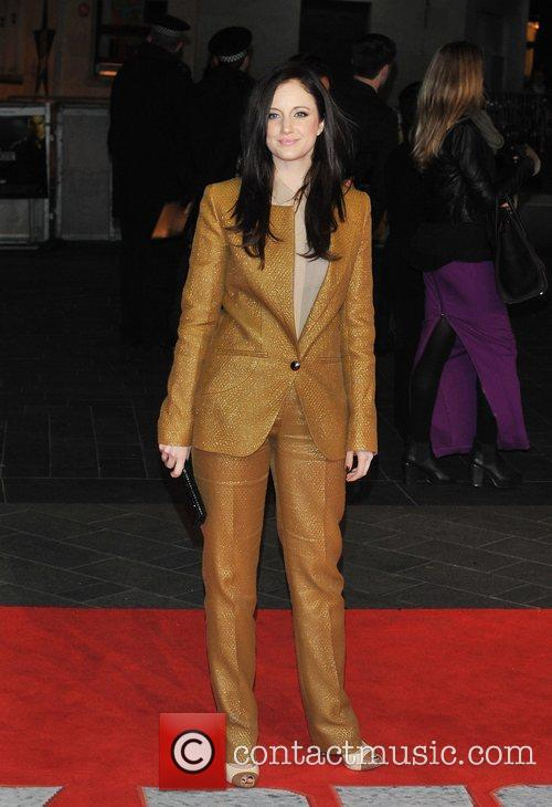 Andrea Riseborough and Odeon Leicester Square 3