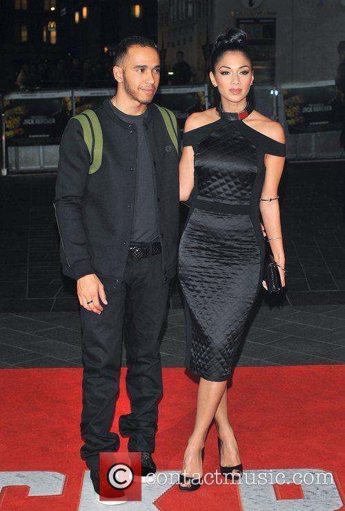 Lewis Hamilton, Nicole Scherzinger and Odeon Leicester Square 10