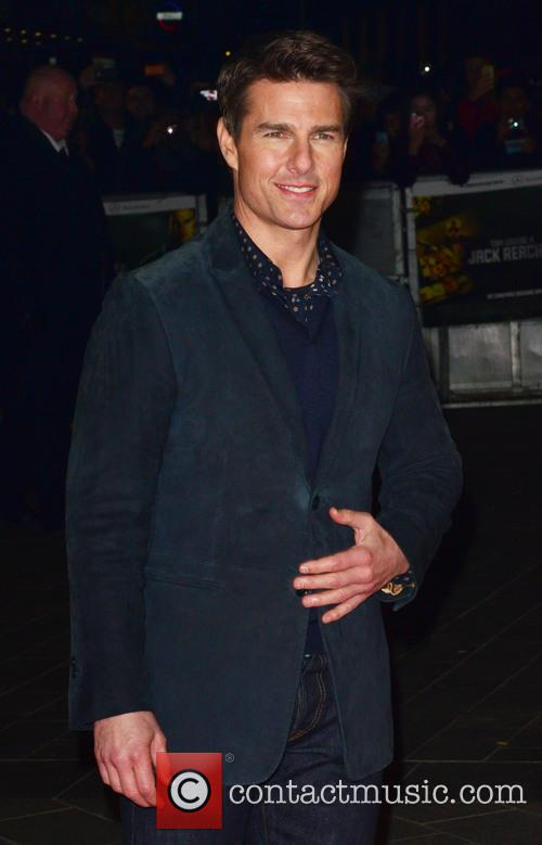 Jack Reacher, Odeon Leicester Square and Arrivals 16