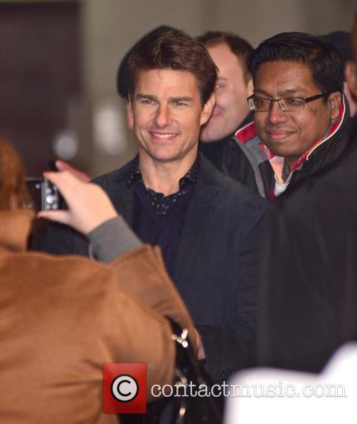 Jack Reacher, Odeon Leicester Square and Arrivals 12