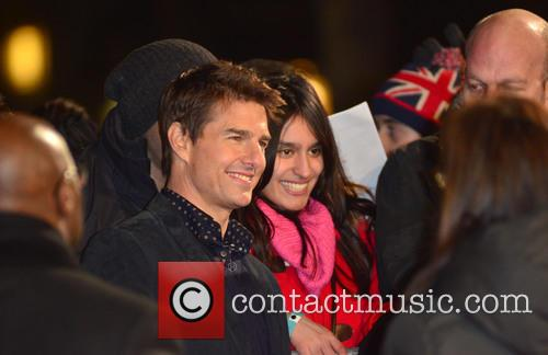 Jack Reacher, Odeon Leicester Square and Arrivals 1