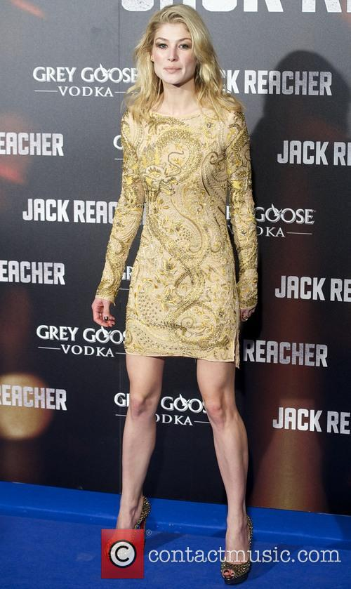 Rosamund Pike 'Jack Reacher' film premiere at Callao...