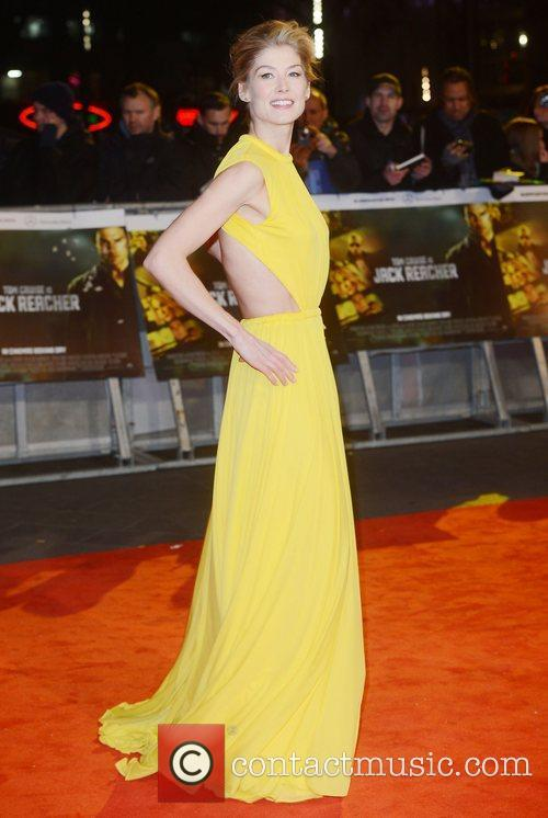 Rosamund Pike, Jack Reacher, Odeon, Leicester Square, London and England 6