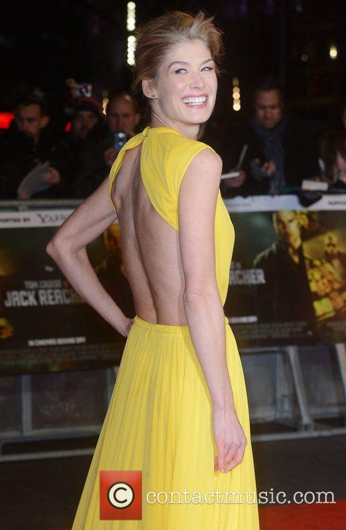 Rosamund Pike, Jack Reacher, Odeon, Leicester Square, London and England 9