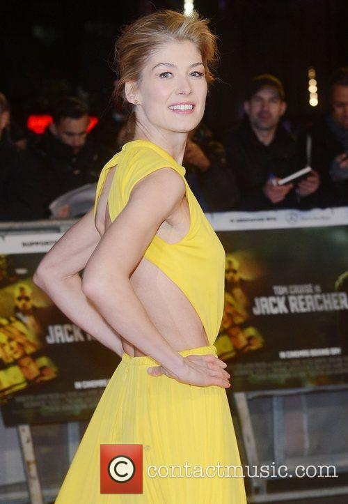 Rosamund Pike, Jack Reacher, Odeon, Leicester Square, London and England 2