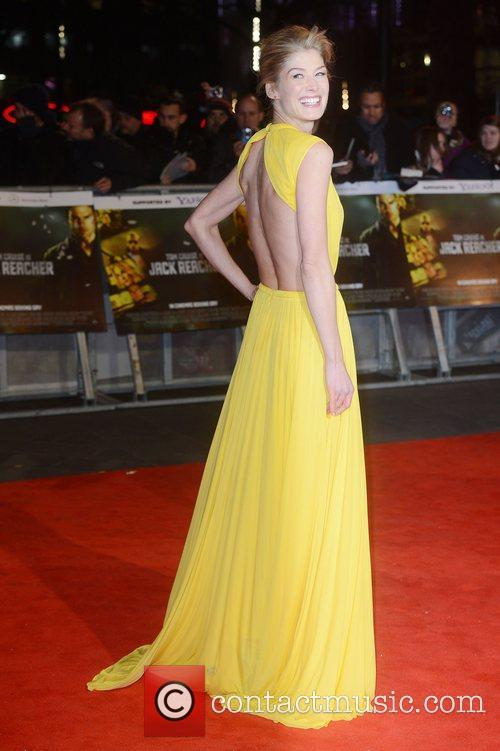 Rosamund Pike, Jack Beacher premiere
