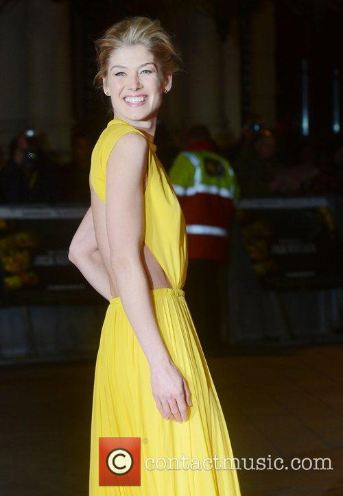 Rosamund Pike, Jack Reacher, Odeon, Leicester Square, London and England 8