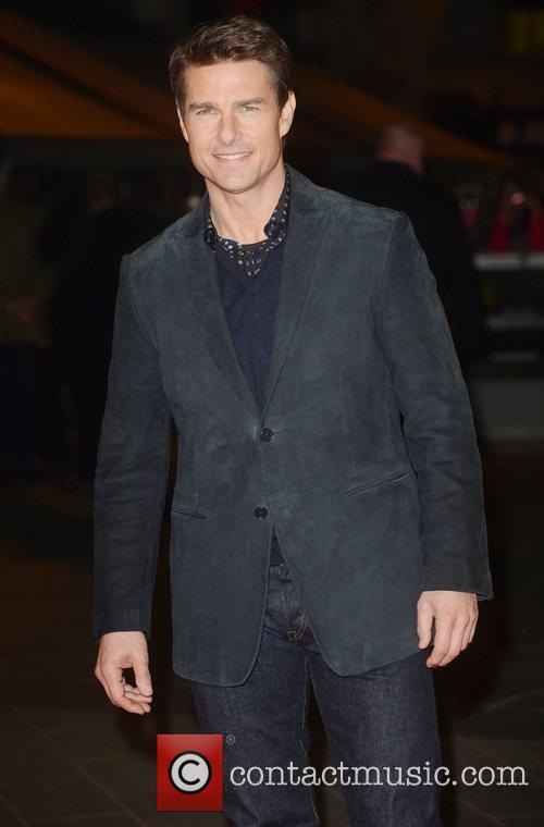 Tom Cruise, Jack Reacher, Odeon, Leicester Square, London and England 8