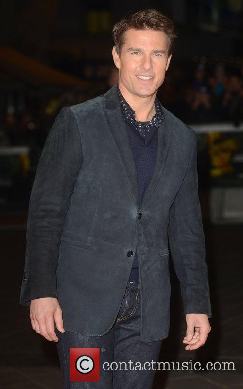 Tom Cruise, Jack Reacher, Odeon, Leicester Square, London, England