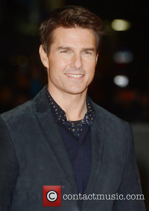 Tom Cruise, Jack Reacher, Odeon, Leicester Square, London and England 1