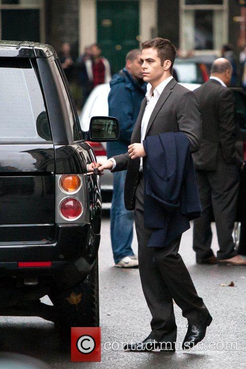Chris Pine, Jack Ryan and London 14