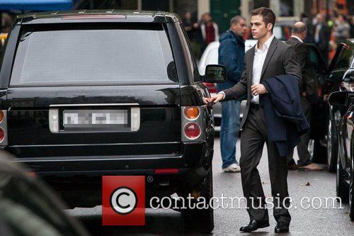 Chris Pine, Jack Ryan and London 17