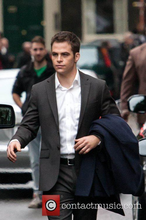 Chris Pine, Jack Ryan and London 8