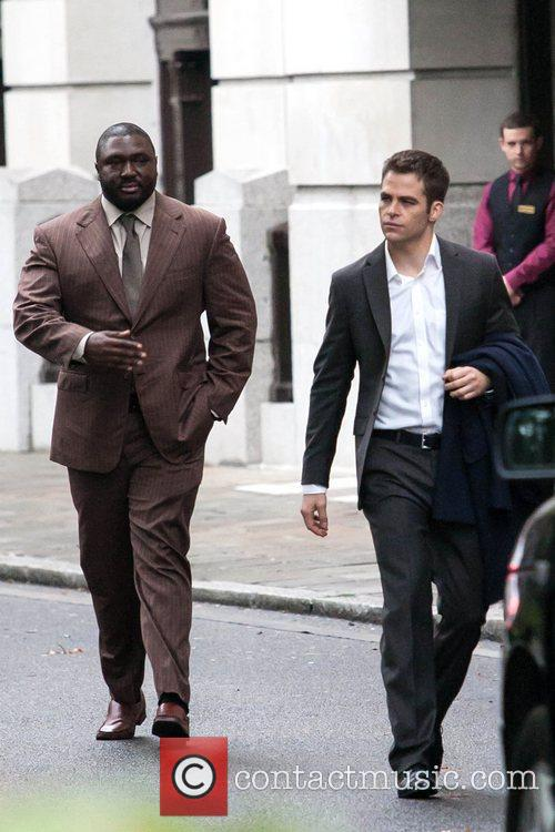 Chris Pine, Jack Ryan, London