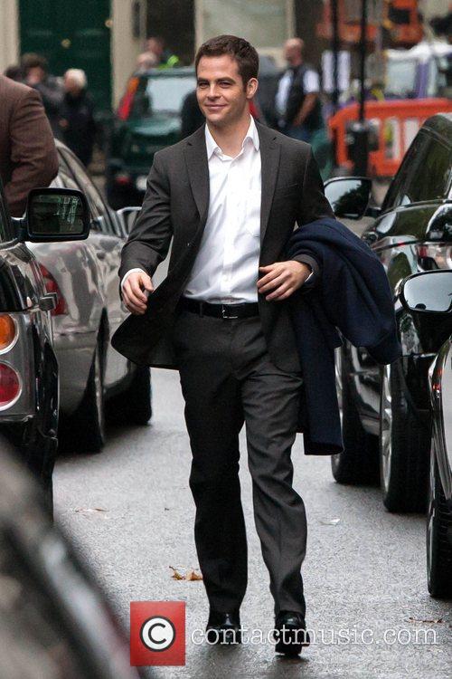 Chris Pine, Jack Ryan and London 15
