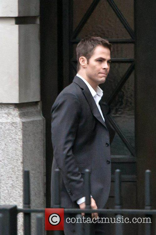 Chris Pine, Jack Ryan and London 7