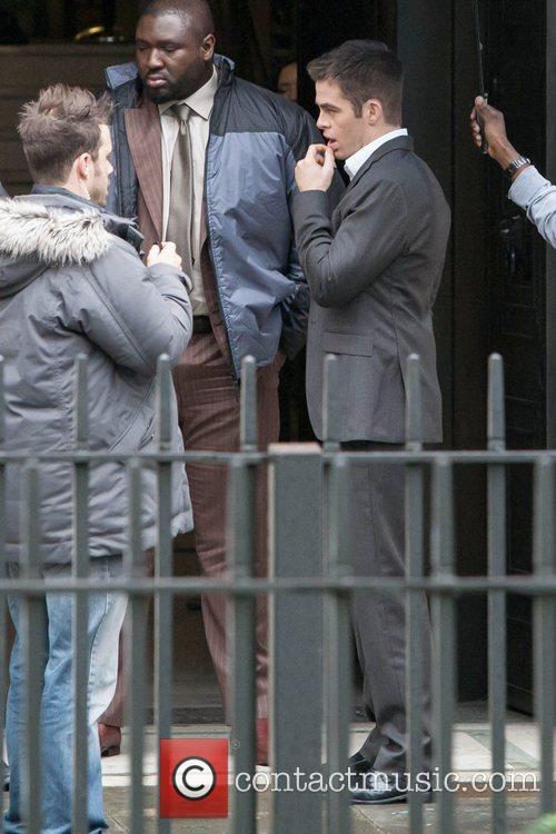 Chris Pine, Jack Ryan and London 30