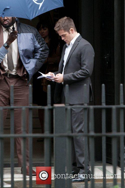 Chris Pine, Jack Ryan and London 22