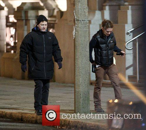 Director Kenneth Branagh shooting scenes for the upcoming...