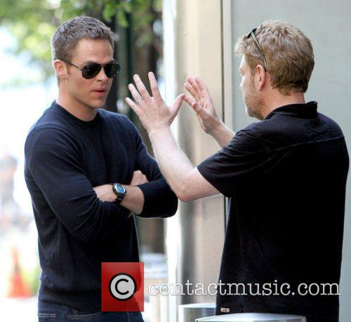 Chris Pine and Kenneth Branagh 2