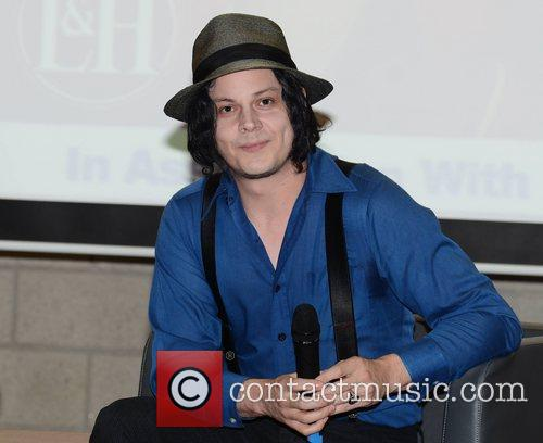 Jack White attends a Q&A session for the...